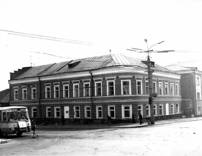 Дом Новикова. 1980 г.